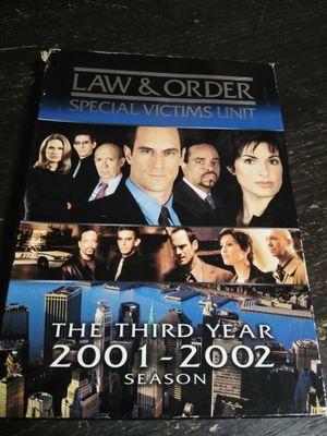 Law & Order SVU Season 3: 2001-2002 for Sale in Eugene, OR