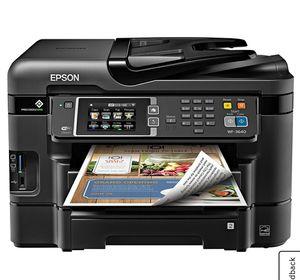 Epson WF-3640 all in 1 printer for Sale in Eagle Rock, VA