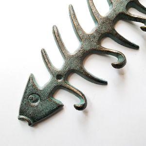 """Brand New! 13 1/4"""" Fish Bone Hook Decor - Coastal for Sale in Miami, FL"""