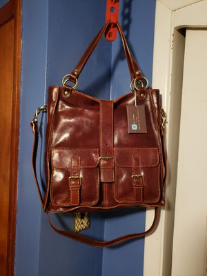 Messenger bag/Tuscany Leather for Sale in Washington, PA