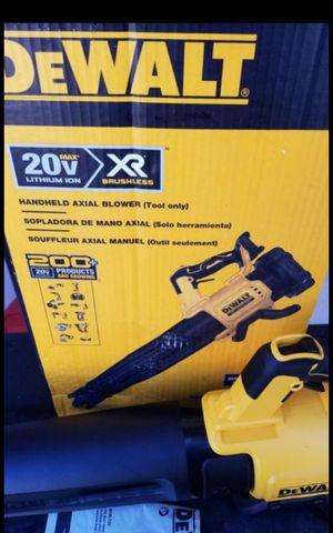 DEWALT 20V MAX XR BRUSHLESS BLOWER TOOL ONLY BRAND NEW for Sale in San Bernardino, CA