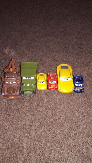 Disney Cars Lot Of 6 for Sale in Patterson, CA