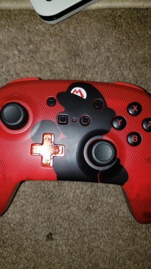 Nintendo Switch Controller - Red With Mario Design - Never Used for Sale in Wheat Ridge, CO