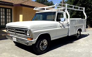 1971 Ford F-250 with Utility Bed and Rack for Sale in West Covina, CA