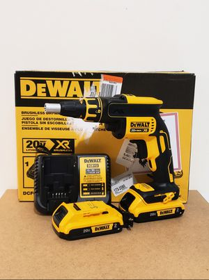New Drywall Screwgun whit (2) Batteries 2.0AH and Charger FIRM PRICE for Sale in Woodbridge, VA