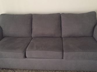 Blue Bluish Grey Sofa Couch for Sale in Nashville,  TN