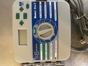 Hunter Pro-C Sprinkler Controller - Irrigation 6 station for Sale in San Antonio, TX