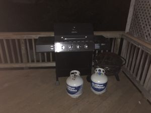 Grill & fire pit for Sale in Arlington, VA