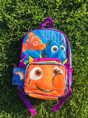 Finding Nemo backpack & lunch bag for Sale in Pico Rivera, CA