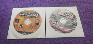 TONY HAWK PRO SKATER 4 & AMERICAN WASTELAND PS2 GAME DISC ONLY COMBO for Sale in Missouri City, TX