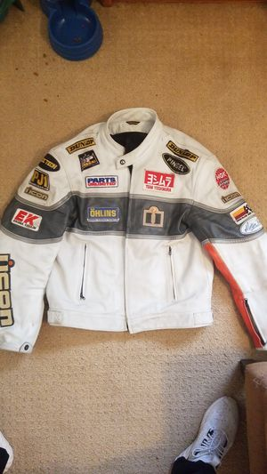 Icon racing motorcycle jacket for Sale in Surprise, AZ