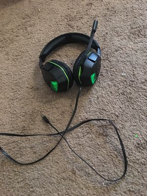AfterGlow Gaming Headphones with mic for Sale in Hickory, NC