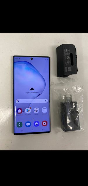 Galaxy Note 10 256 gigs unlocked with S3 Watch for Sale in New Haven, CT