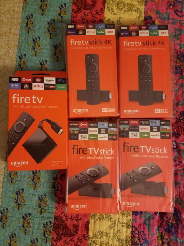 All new 4k fire tv sticks