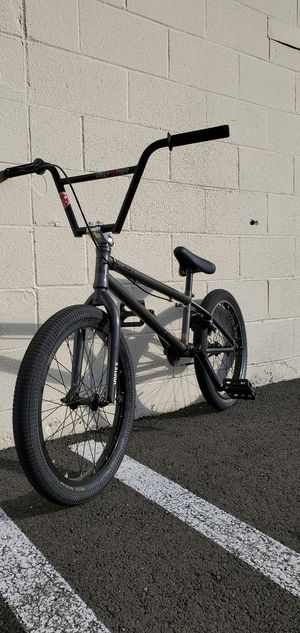 Stolen (Brand) Custom BMX Bike 20.8in TopTube 20in Wheels for Sale in North Haven, CT