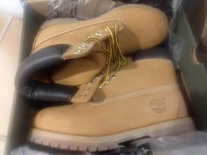 NEW Mens Timberland wheat boots size 7 for Sale in Meherrin, VA