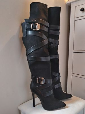 Black Heeled Boots for Sale in Sandy, UT