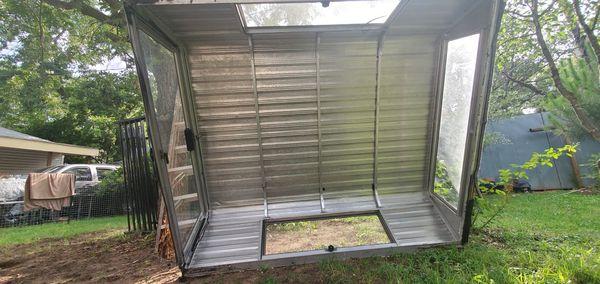 Alluminum camper