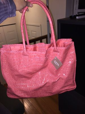 Large Pink Tote Bag from Ulta for Sale in North Bethesda, MD