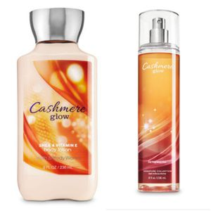 Bath and body works cashmere glow lotion & fragrance mist for Sale in Brooklyn, NY