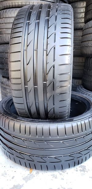 245/35/18 BRIDGESTONE POTENZA S001 99% TREAD for Sale in Tampa, FL