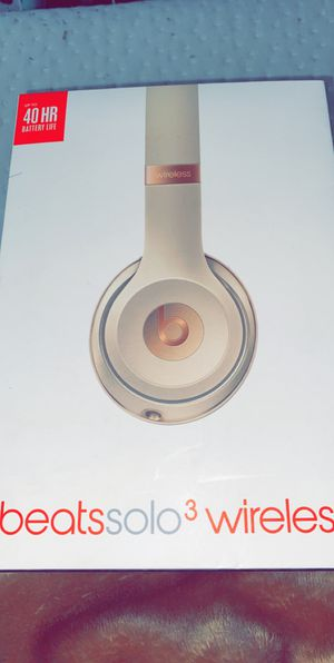 Beats solo 3 for Sale in Dearborn, MI