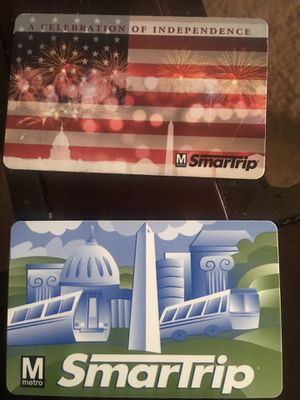 $100 dollars on these SmartTrip cards. for Sale in Washington, DC