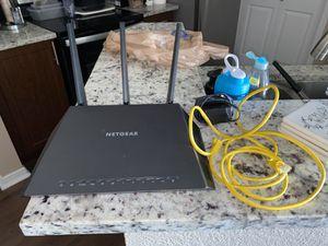 NETGEAR Nighthawk AC1900 Smart WiFi Router, R7000 for Sale in Lewisville, TX