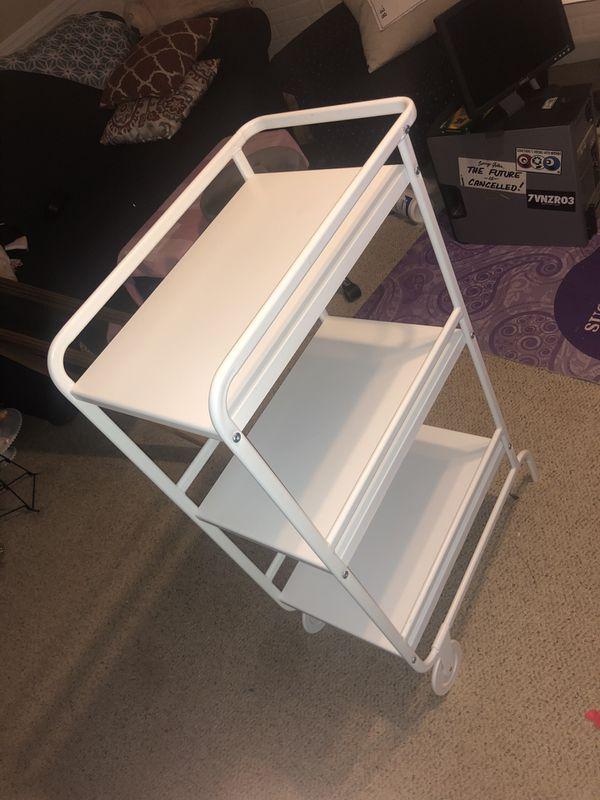 Metal Organizer Shelf Modern