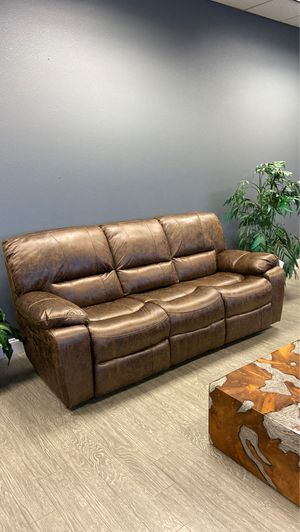 Manual Recliner Sofa in Brown, Black or Grey for Sale in Vancouver, WA