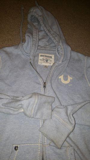 True Religion jacket zip hoodie size Large for Sale in La Vergne, TN