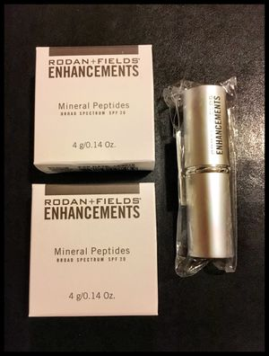 Rodan + Fields Mineral Peptides and Brush (Never Opened) for Sale in North Bend, WA