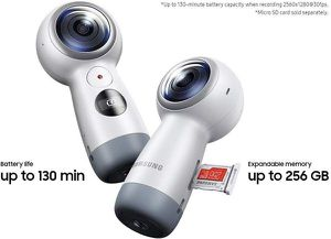 Samsung Gear 360 Real 360° 4K VR CameraSamsung Gear 360 Real 360° 4K VR Camera for Sale in San Jose, CA