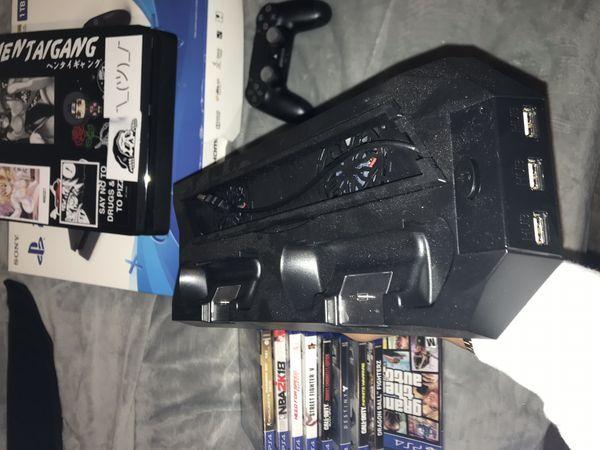 PS4 slim gaming set up
