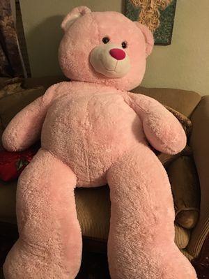 Big pink teddy bear for Sale in Antioch, CA