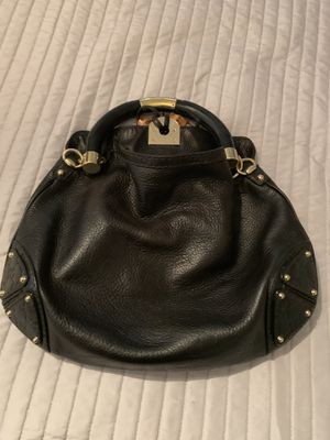 "AUTHENTIC GUCCI BLACK LEATHER ""INDY"" HOBO $2000 retail for Sale in Hayward, CA"