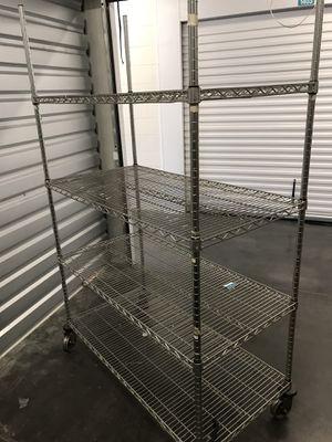 Medium Size Wire Roller Rack for Sale in San Jose, CA