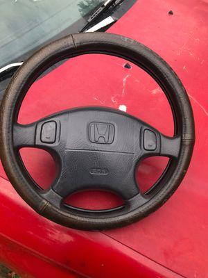 Honda civic steering wheel 1998 for Sale in Red Rock, TX