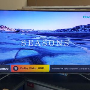"""55"""" HISENSE ULED ANDROID 4K UHD SMART TV for Sale in Pomona, CA"""