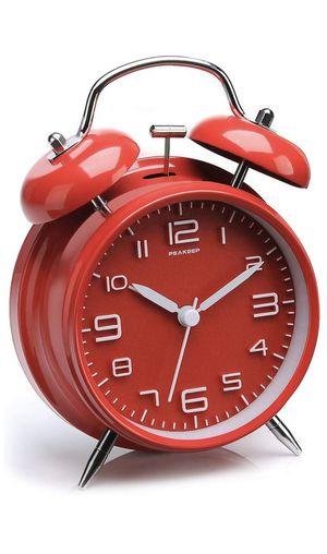 "Peakeep 4"" Twin Bell Alarm Clock for Sale in Edmonds, WA"