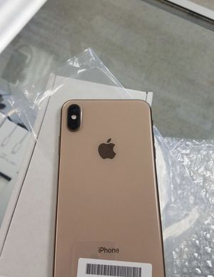 Gold sim unlocked Apple iPhone XS MAX 64GB for Sale in Tempe, AZ