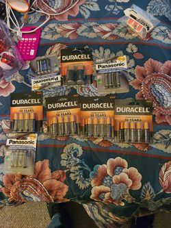 Duracell Panasonic AA N AAA batteries for Sale in Springfield,  IL