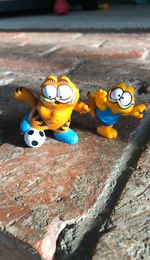 Garfield the Cat toy action figure doll vintage retro for Sale in La Mesa, CA