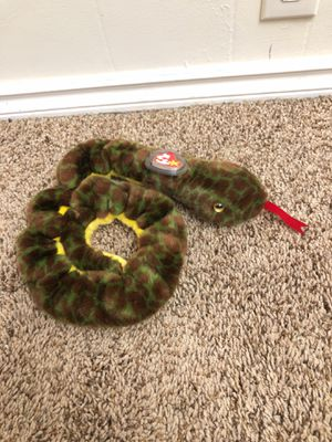 Large beanie baby snake slither for Sale in Seattle, WA