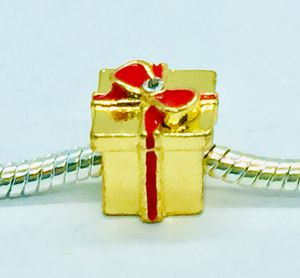New Pandora Style Gold Gift Charm for Sale in Marysville, WA