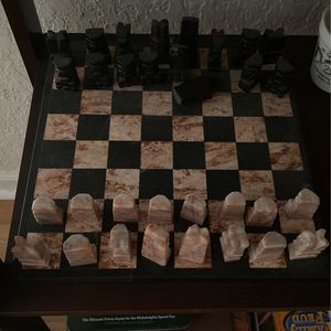 Marble Chess Set for Sale in Loxahatchee, FL