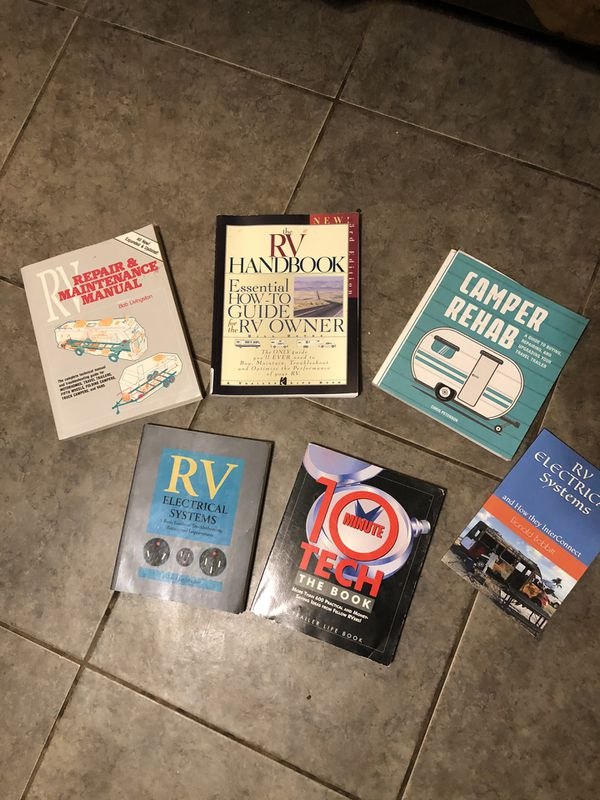 Various RV and Travel Trailer Books