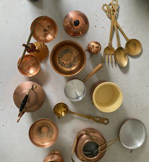 Copper Lover's Dream Cooking Set for Sale in Alexandria, VA
