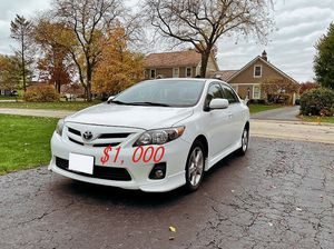 🍁Perfect CAR 2012 Toyota Corolla Price$1000❗ for Sale in Downey, CA