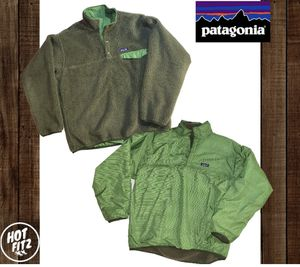 Patagonia reversible fleece down styled jacket for Sale in Linden, CA
